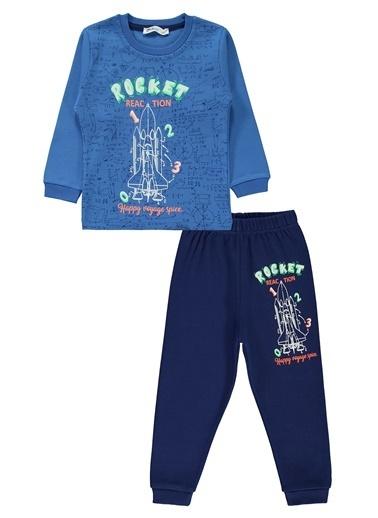 Civil Boys Erkek Çocuk Pijama Takımı Mavi